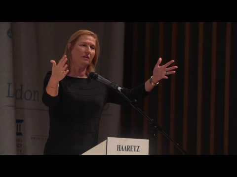 Tzipi Livni at the Haaretz Conference in London