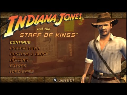 Indiana jones and the staff of kings psp rom free download.