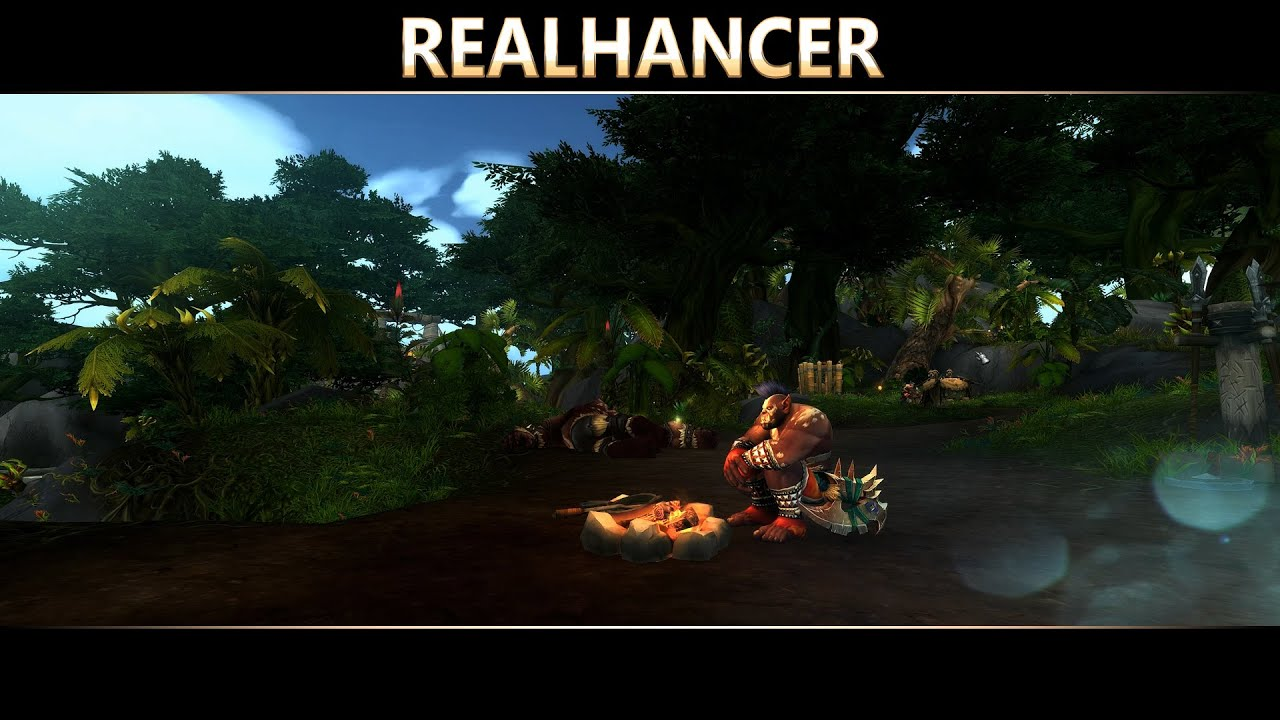 World of Warcraft Realhancer Reshade / SweetFX Preset PC Ultra Details