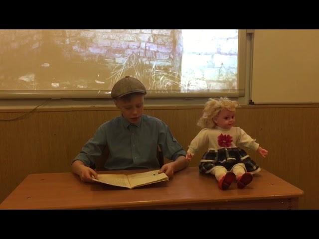 Изображение предпросмотра прочтения – СергейЦеликов читает отрывок изпроизведения «Дети подземелья» В.Г.Короленко