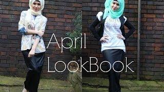 April Lookbook - Nabiilabee