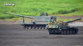 Latest News, Japan develops new self propelled howitzer!