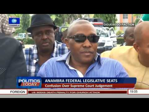 Politics Today: Discussing PDP Anambra Federal Legislative Seats Tussle Pt 1