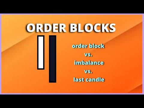 ORDER BLOCKS IN