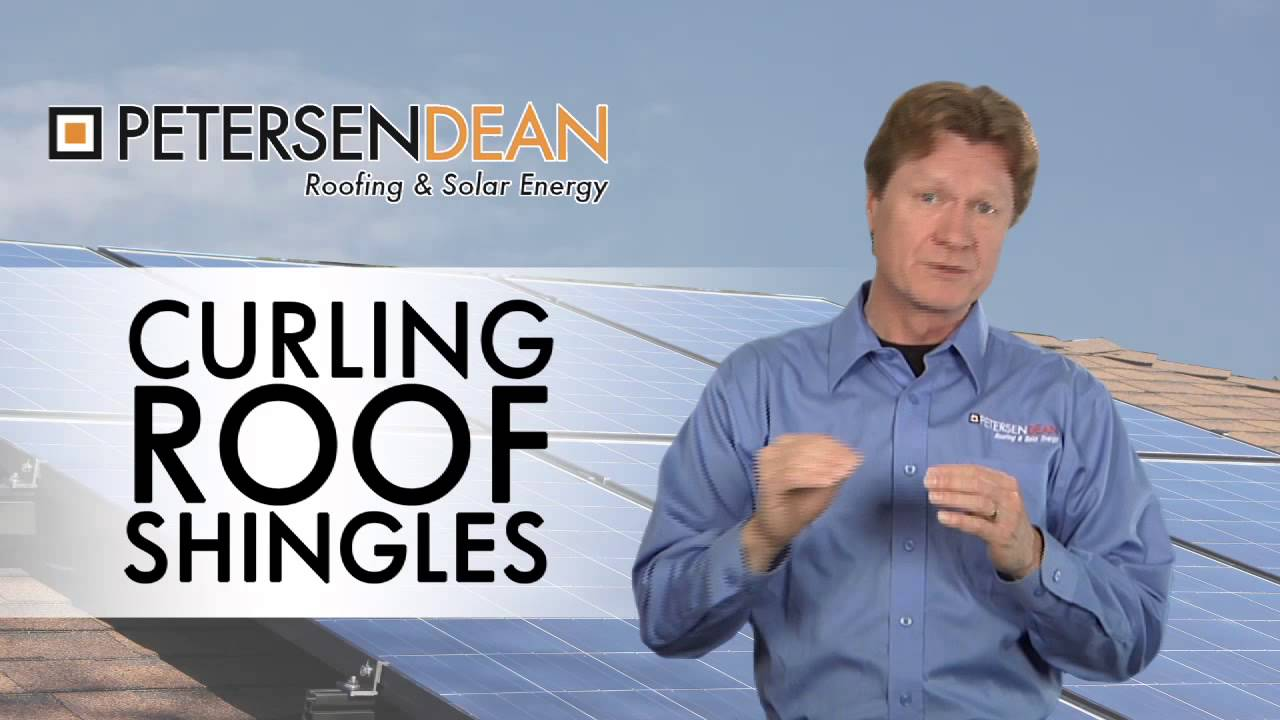 Signs Of Roof Failure Curling Roof Shingles Youtube