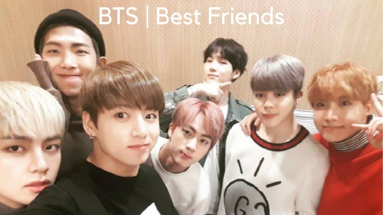 imagine | bts as your best friends