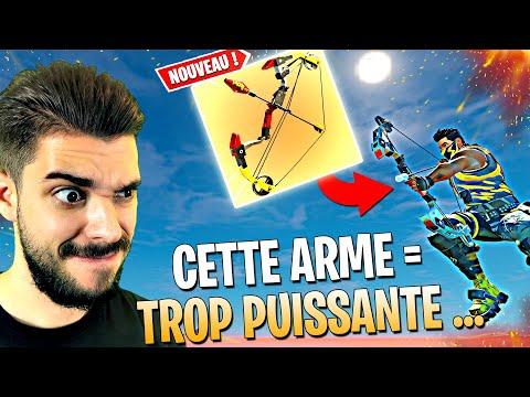 DFI : TOP 1 AVEC L' ARC MYTHIQUE UNIQUEMENT SUR FORTNITE - CETTE NOUVELLE ARME TROP CHEAT ...