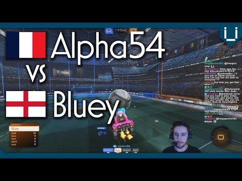 Bluey vs Alpha54 (Rank 11) | Rocket League 1v1