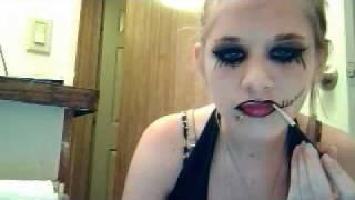 andy sixx makeup and hair
