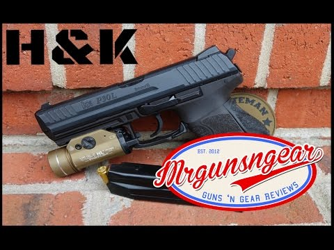 How To Clean & Lubricate A Heckler & Koch P30 Pistol (HD)
