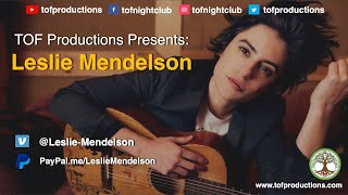 TOF Productions Presents: Leslie Mendelson, 12/10/2020