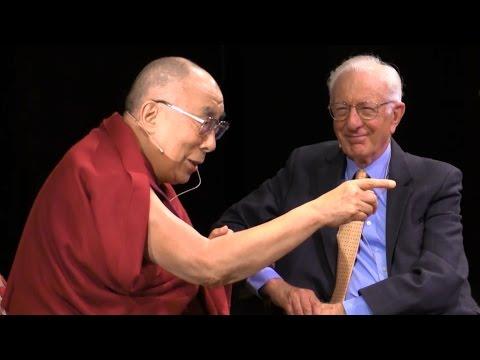 Dalai Lama in conversation with Richard Layard