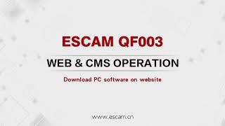 Інструкція до налаштування IP WIFI камері QF003 ESCAM