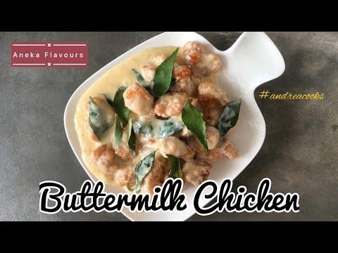 Resipi Ayam Buttermilk Ringkas Dan Mudah Simple Buttermilk Chicken Youtube