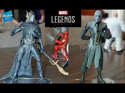 Corvus Glaive /& ébène Maw Noir Commande Lot Marvel Legends Thanos Avengers Issue