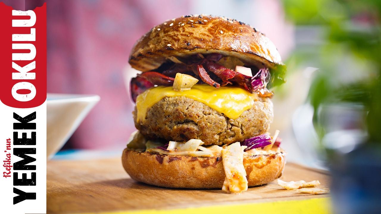 Evde Hamburger Yapımı Videosu