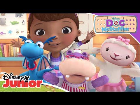 """Wash Your Hands"" Song | Doc McStuffins | Disney Junior UK"