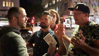 LGBT triggered by tнe gospel on K road, Auckland, part 2