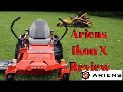 Cub Cadet Ultima ZT1 | Ariens IKON X Review | The Best Residential Zero Turn Mower