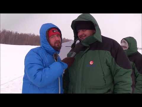 """Фестиваль """"Первый лед"""", фрагмент из передачи """"Диалоги о рыбалке""""."""