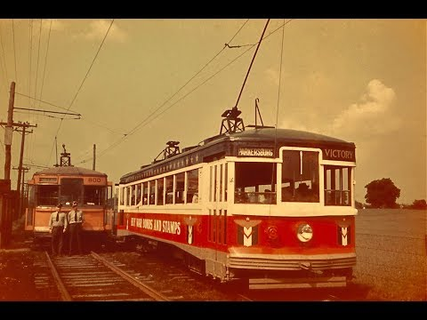 Trolley Rides On The Parkersburg (WV) / Marietta (OH) Line
