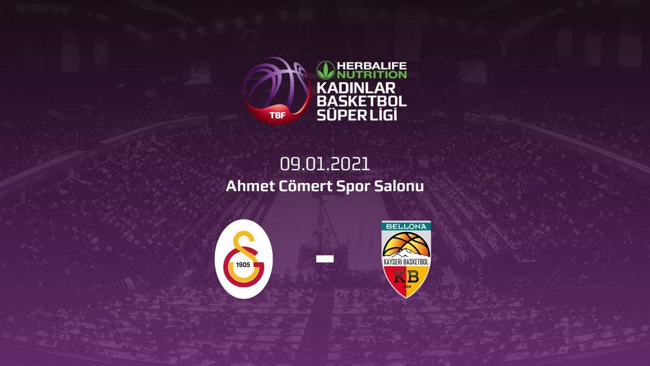 Galatasaray – Bellona Kayseri Basketbol Herbalife Nutrition KBSL 16.Hafta