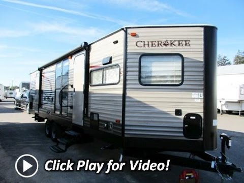 Front Kitchen Travel Trailer Wood Floors In Haylettrv Com 2016 Cherokee 274vfk V Nose By Forest River Rv