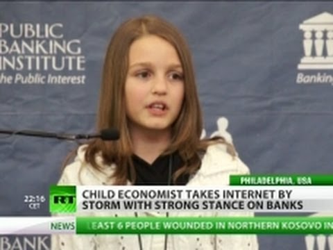 'We're being robbed!' 12yo girl exposes Canada banking flaws