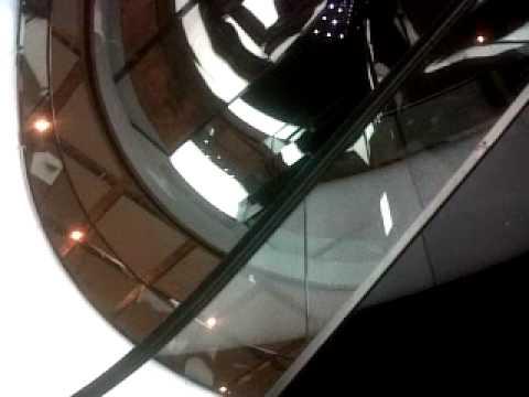 Westfield's Billion Dollar Shopping Centre's feature escalator