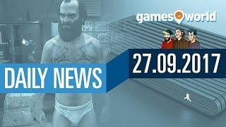 Studie zu illegalen Downloads, Ataribox und GTA 5 für Switch | Gamesworld Daily News - 27.09.2017