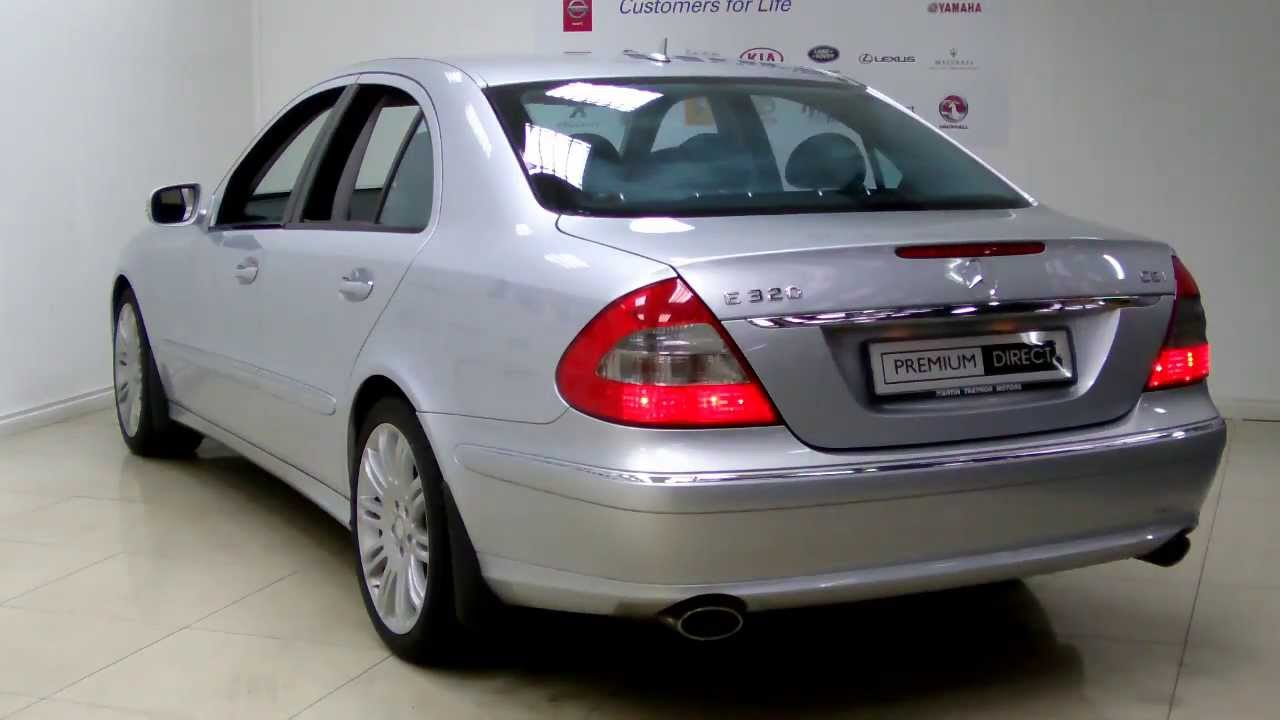 mercedes benz e class e320 silver 2008 premium direct. Black Bedroom Furniture Sets. Home Design Ideas