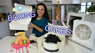 STUNNING & EASY CAKE BOXING AND DELIVERY IDEAS | BY VERUSCA WALKER