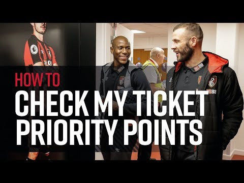 How to... | Check my ticket priority points online 🔢