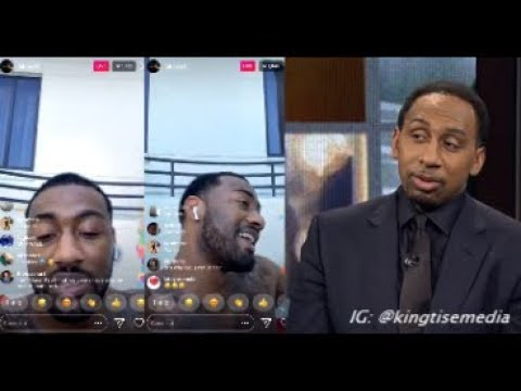 download John Wall Responds To Stephen A. Smith Exposing Him For Partying At Rosebar While Wizards Suck