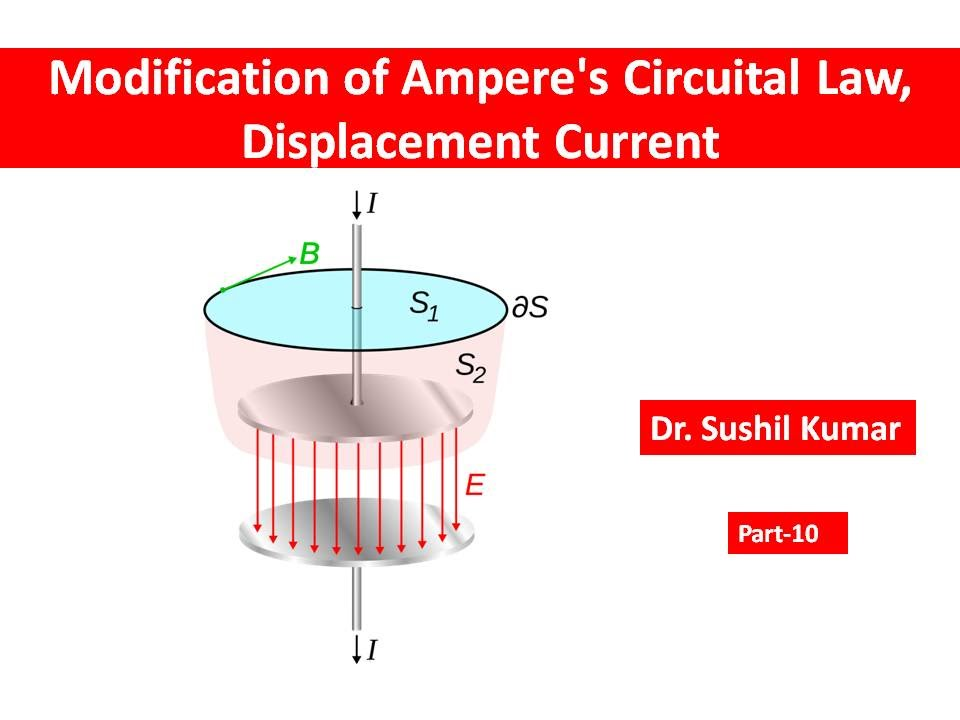 modifification of ampere s circuital law displacement current youtube rh youtube com