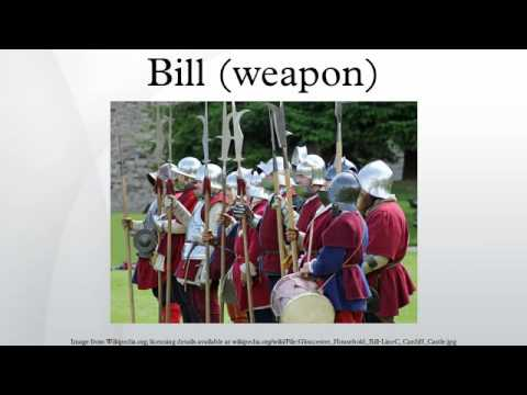 Bill (weapon)