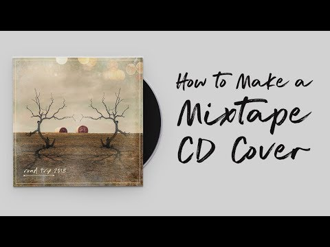 How to Make a Mixtape CD Cover:  Photoshop Tutorial
