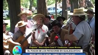 EL FOGON DE LOS PAYADORES EN GUALEGUAYCHU MIGUEL ANGEL OLIVERA Y SAMUEL TITO GARCILAZO EN PROGRAMA A