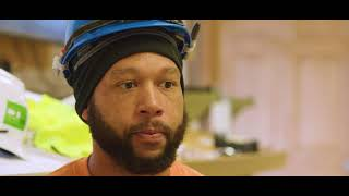 meet tyrone. he's a second-year electrician's apprentice, in providence, ri