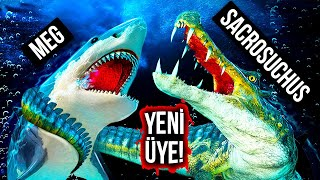Megalodon, Dev Timsah Dinozora Karşı: Kazanan Kim Olacak?