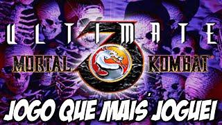 Mortal Kombat 3 - JOGO QUE EU MAIS JOGUEI NA MINHA VIDA