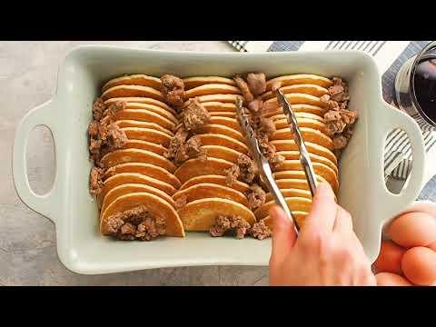 Sausage Pancake Breakfast Casserole