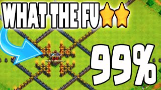"Clash of Clans - WHAT THE FU**! ""99ATTACK RAGE!"" + Town Hall 9 Titan Two Starring Maxed Town Hall 10"