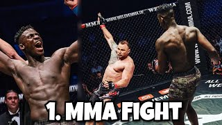 MEIN ERSTER MMA KAMPF 🥊 Gegner beleidigt mich als ....