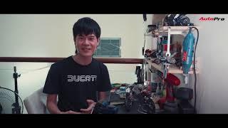 Long Ducati X Autopro . clip rất cảm xúc. cam ơn autopro
