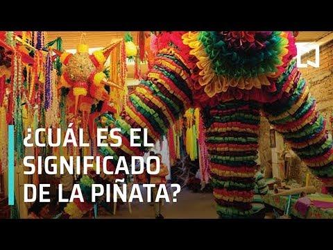 El significado de las piñatas en esta temporada - Matutino Express