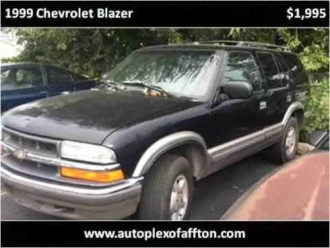 1999 chevrolet blazer used cars st louis mo youtube. Black Bedroom Furniture Sets. Home Design Ideas