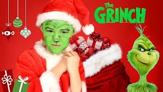 The Grinch Makeup and Costume