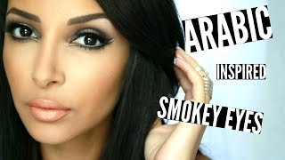 Arabic Smokey Eyes ♥︎ w/ Naked Smoky palette