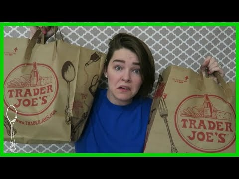 My First Time At Trader Joe's | Grocery Haul